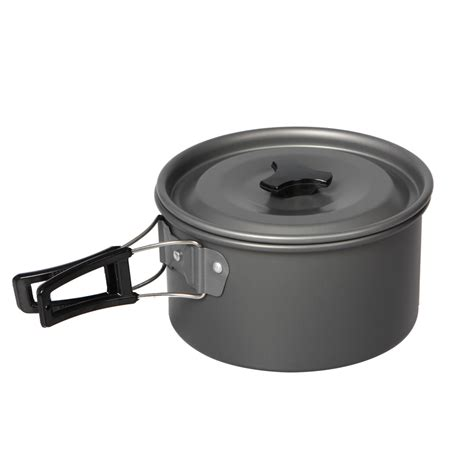 mini masak set panci masak set outdoor 11pcs black jakartanotebook
