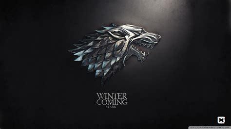 winter  coming game  thrones wallpapers top