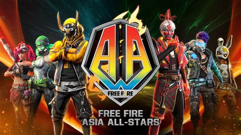 Tons of awesome free fire gaming logo wallpapers to download for free. FF Asia All-Stars | Garena Free Fire Indonesia