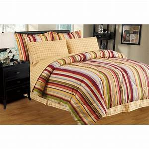 Ultra, Soft, 8, Pc, Reversible, Bed, In, A, Bag, Comforter, Set