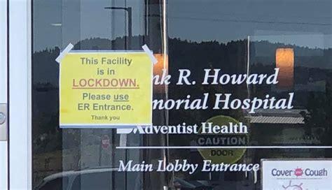 Howard Hospital lockdown ended -- threat deemed not ...