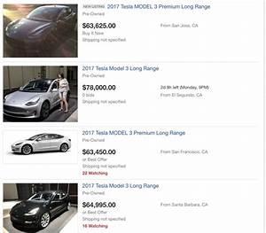 Tesla Model X Prix Ttc : les prix affolants des tesla model 3 d 39 occasion ~ Medecine-chirurgie-esthetiques.com Avis de Voitures