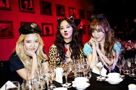Hyoyeon,yuri, & Tiffany)  Sm Entertainment Halloween
