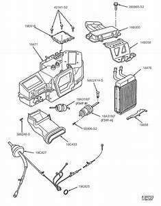 1999 Ford Expedition Heater Core Hose Diagram
