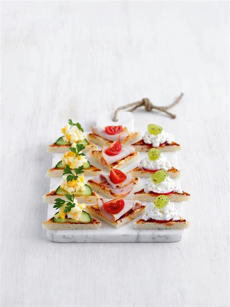 recette canapes pour aperitif recettes cenovis