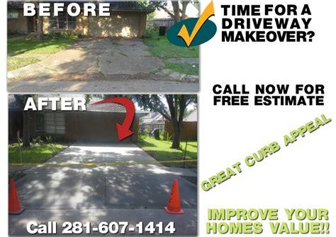 houston driveway repair