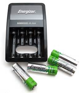 Energizer Rechargeable AA Batteries Charger