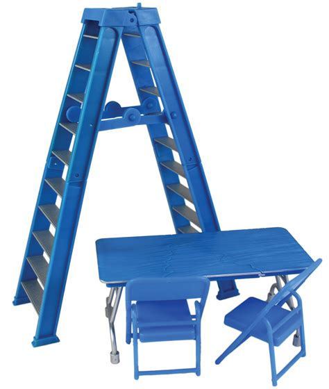 Tables Ladders And Chairs Toys Ebay by Ultimate Ladder Table Playset Blue Ringside