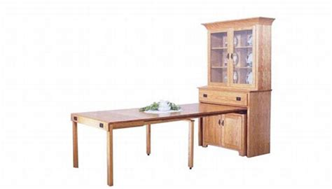 hutch with pull out table seven pull out furniture designs for a smart home hometone