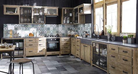 Maison Du Monde Meuble Cuisine Meubles De Cuisine Ind 233 Pendant Et Ilot Maison Du Monde
