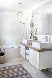 Plante Verte Salle De Bain : salles de bains blanches 12 photos rep r es sur pinterest c t maison ~ Melissatoandfro.com Idées de Décoration