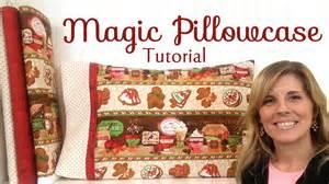 shabby fabrics tutorials how to make a magic pillowcase with jennifer bosworth of shabby fabrics youtube