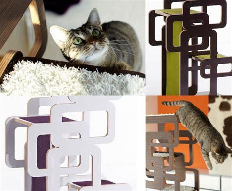 German Designer Cat Trees From Wohnblock • Hauspanther