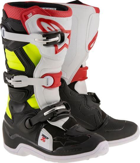 boys motocross boots alpinestars youth boys tech 7s mx motocross offroad riding