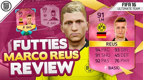Add the latest transfer rumour here. FIFA 16 FUTTIES REUS PLAYER REVIEW! (91) - FIFA 16 ...
