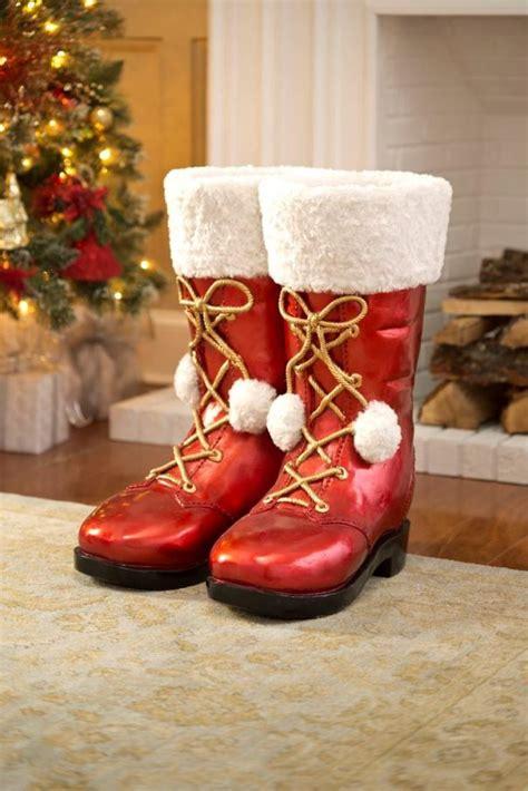top  decoration ideas  santa boots christmas fun