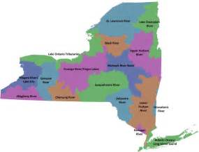 New York State Watershed Map