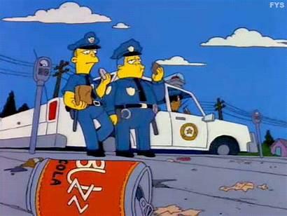 Simpsons Wiggum Eddie Lou Clancy Marge Chief