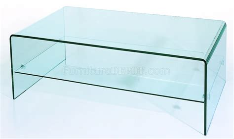 contemporary glass coffee tables clear tempered contemporary glass coffee table