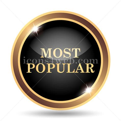 Most popular gold icon