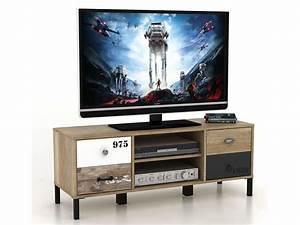 Casa Meuble Tv : meuble tv oldy chez conforama ~ Teatrodelosmanantiales.com Idées de Décoration
