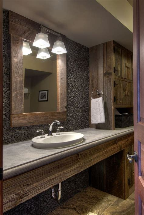 51 insanely beautiful rustic barn bathrooms industrial