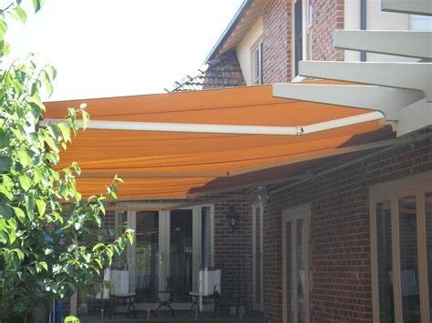retractable patio electric folding arm awnings yarra shade