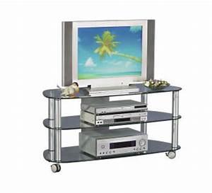 Tv Glastisch Mit Rollen : tv rack glas g nstig sicher kaufen bei yatego ~ Bigdaddyawards.com Haus und Dekorationen