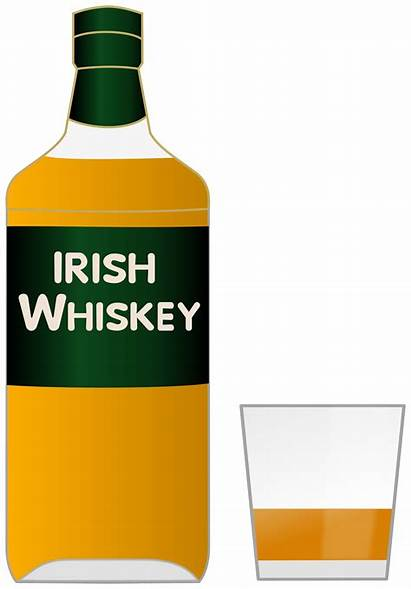 Whiskey Clipart Glass Bottle Irish Clip Transparent