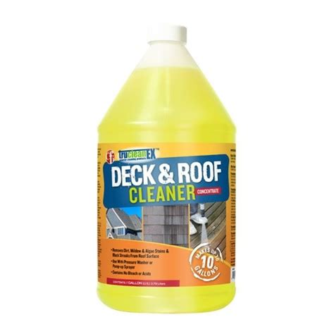 trucleanex deck roof cleaner twin creeks