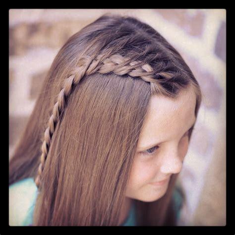 how to create a crossover dutch braid cute girls hairstyles