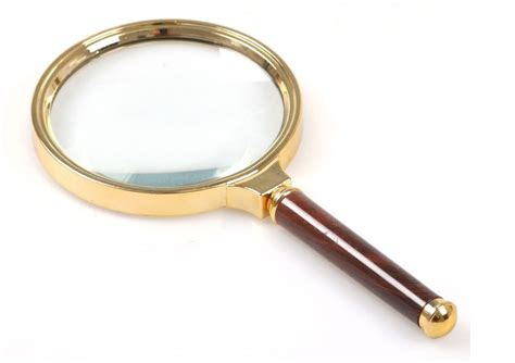 Handheld 10x Magnifier Magnifying Glass Loupe 90mm