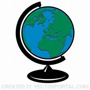 Globe Terrestre Carton : earth globe vector clip art 123freevectors ~ Teatrodelosmanantiales.com Idées de Décoration