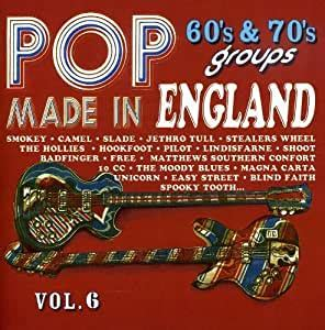 The most popular pop music artists in the uk according to yougov ratings. - Made in England-Pop 60's & 70's Groups by Made in England (2009-02-01) - Amazon.com Music