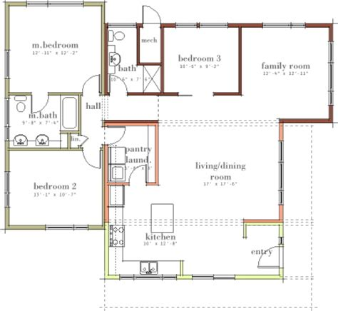 open modern floor plans modern house plans by gregory la vardera architect sage house post set progress