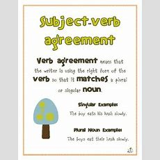 1000+ Images About 1st Grade Nounverb Agreement On Pinterest  Subject Verb Agreement, Has Have