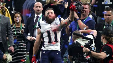 Julian Edelman & Rob Gronkowski Break Super Bowl Record vs ...