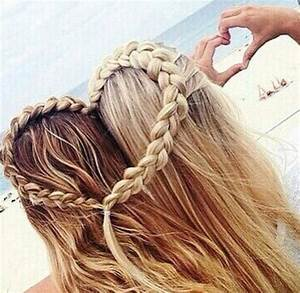 Best Friends Heart Hairstyle Pictures, Photos, and Images ...