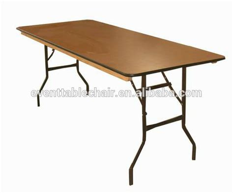 high quality folding dining wooden banquet tables