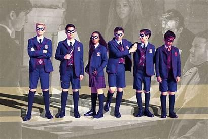 Umbrella Academy Season Netflix Tapety Luther Desktop
