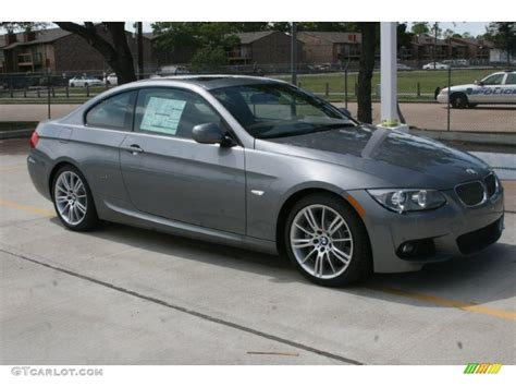 Bmw Space Grey by Space Gray Metallic 2011 Bmw 3 Series 335i Coupe Exterior