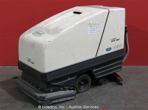 Tennant Floor Scrubber Service by Tennant 480es 32 Quot Self Propelled Walk Floor Sweeper