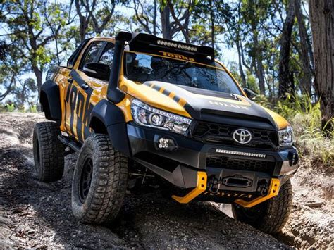 Isuzu Panther 4k Wallpapers by This Toyota Hilux Tonka Concept Is The Road