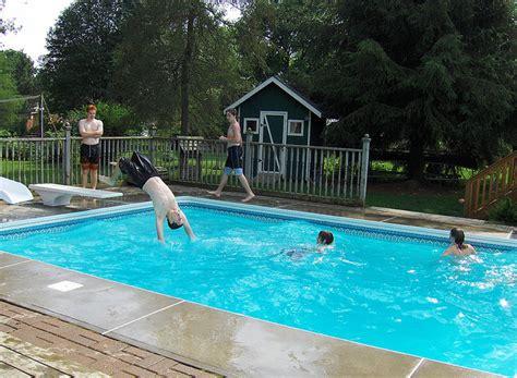 Gartenpool  Salzwasser Pool Im Eigenen Garten Bauen