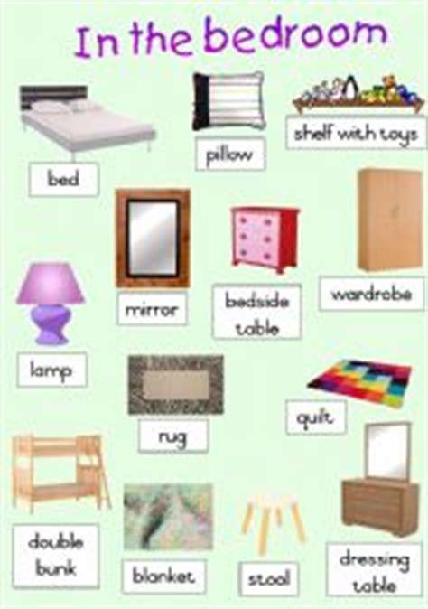 bedroom worksheets