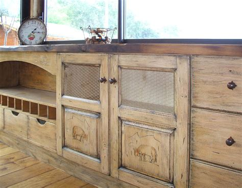 plan de travail cuisine gris anthracite cuisine moderne en bois