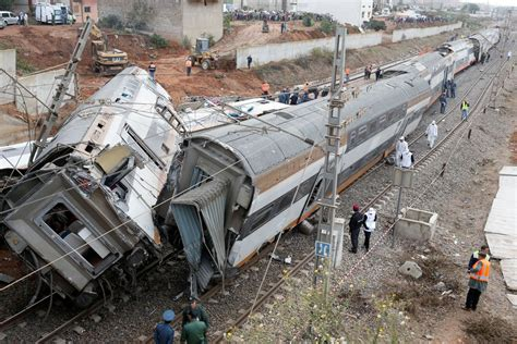 At Least 6 Killed As Train Derails In Morocco