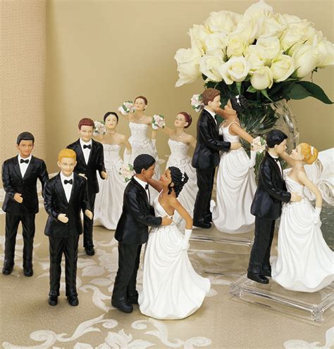 figurine mariage originale interchangeable cake tops ethnic multiracial cake toppers grooms figurines mix match