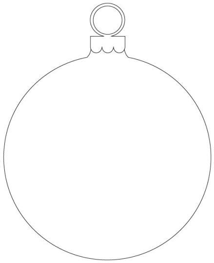 christmas ornament outlines printable ornament outline printable part 7 free resource for teaching