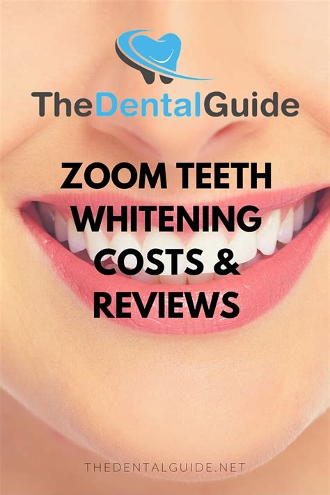 zoom teeth whitening costs reviews  dental guide